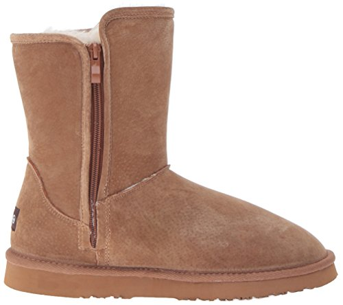 Side Damen Sellas Boot Fashion Kastanie Zip Lamo H6vx4xq