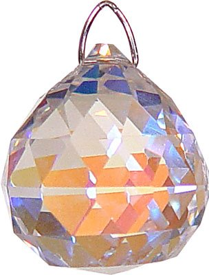 Ab Faceted Crystal (CRYSTAL - FACETED SPHERE 20MM AB)