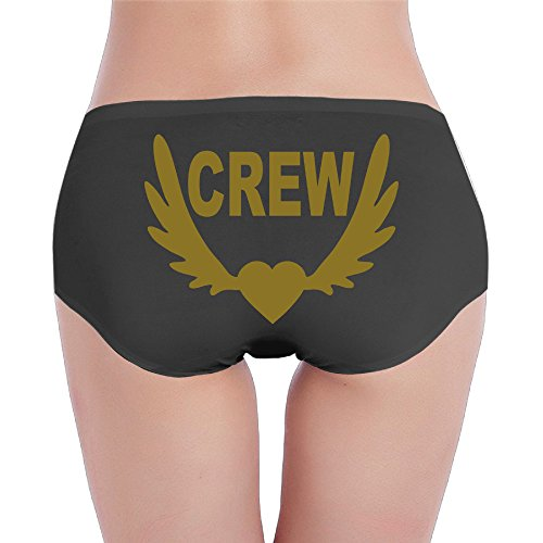 Briefs Underpants Knickers Cool Crew Winged Heart Underwear Womens Underwear Briefs X-Large