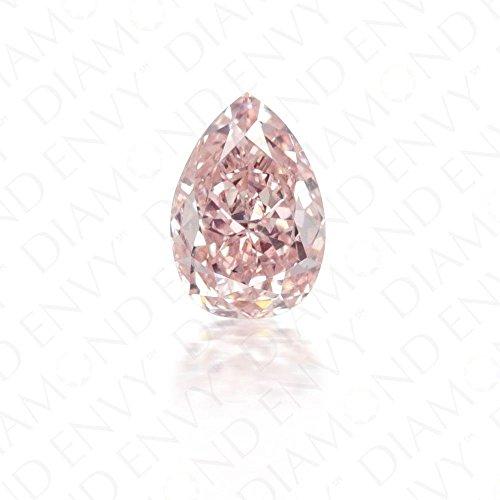 (0.08ct Pink Diamond - Natural Fancy Pink Vvs1)
