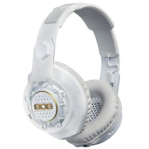 808 PERFORMER BT - Wireless + Wired Over-Ear Headphones - White