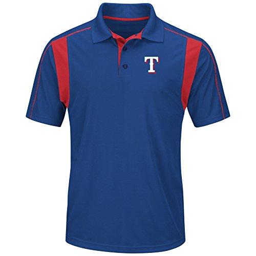MLB Texas Rangers Men's On Field Triumph Tops, Royal/Red, Medium ()
