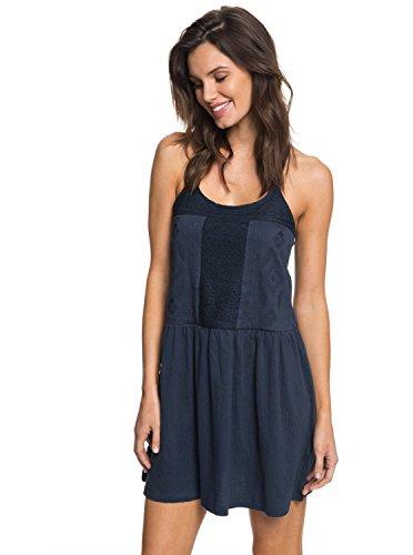 Roxy Womens Wear (Roxy Womens White Beaches - Strappy Dress - Women - S - Blue Dress Blues S)