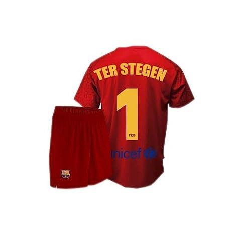 Conjunto camiseta y pantalón de portero FC. Barcelona 2017 ...