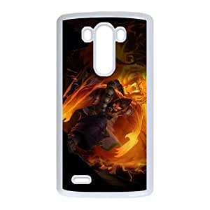 LG G3 Cell Phone Case White Udyr league of legends Pryta