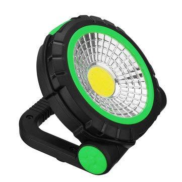 (SumoTik Portable LED Hook Camping Lantern Outdoor Work Torch Hanging Emergency - Outdoor Lighting LED Camping Lights - (Green) - 1 x Camping light)