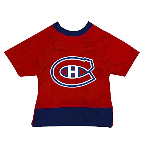 (NHL Montreal Canadiens Athletic Mesh Dog Jersey, XX-Large, Red)