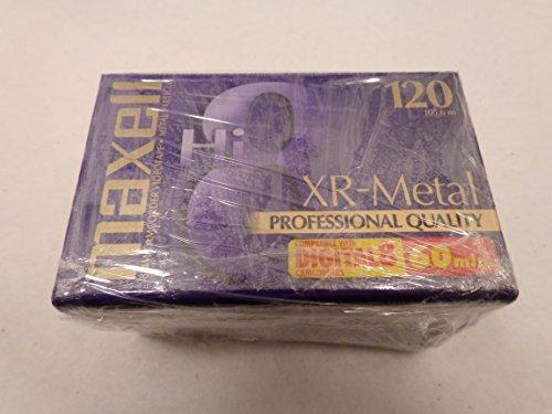 Maxell Hi8 Xr-metal 60 Min 120 Digital 8 by Maxell