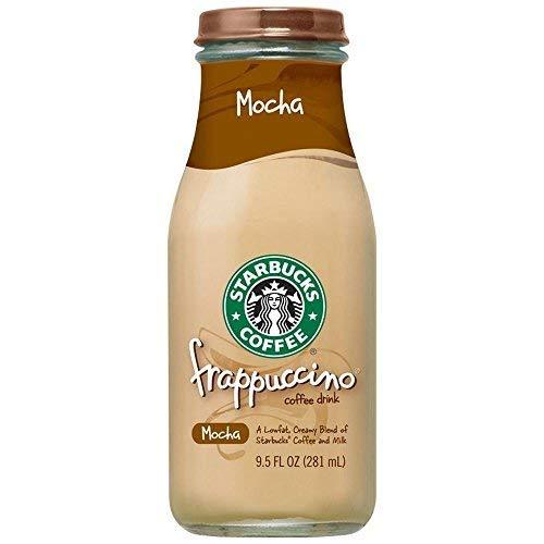 Starbucks Mocha Frappuccino 15 count 9.5 ounce glass bottles