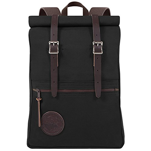 Duluth Pack Scout Rolltop Pack (Black) by Duluth Pack