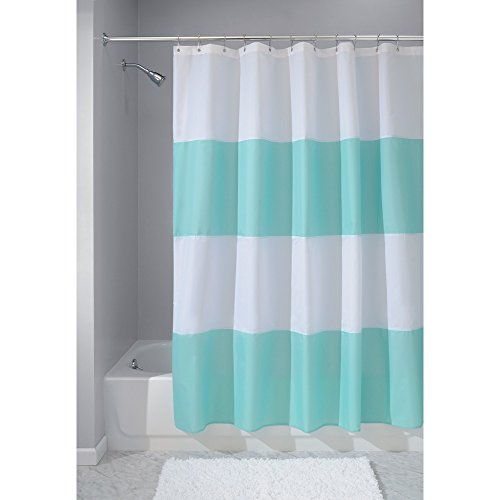 InterDesign Mildew Free Water Repellent Curtain 72 Inch