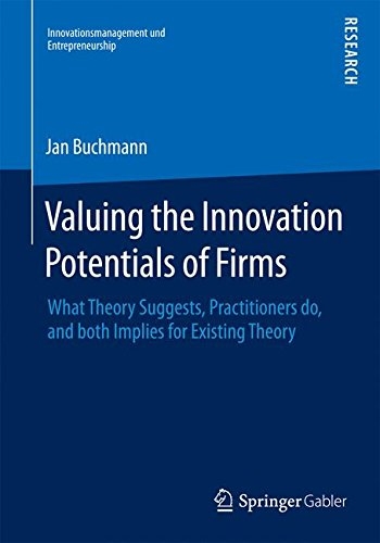 Valuing the Innovation Potentials of Firms: What Theory Suggests, Practitioners do, and both Implies for Existing Theory