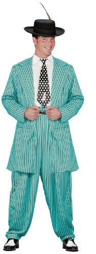 [Blue Zoot Suit Costume - Adult Std.] (Gangster Man Zoot Suit Adult Costumes)