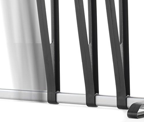 Whitmor 3-Pair Boot Rack, Black