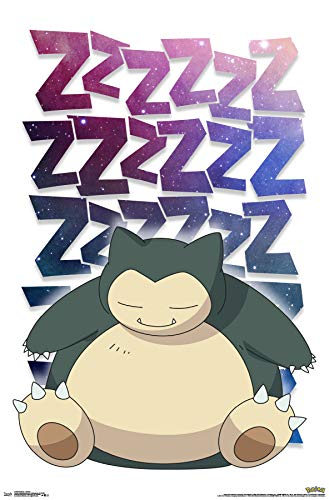 (Trends International Pokemon - Snorlax Wall Poster, 22.375