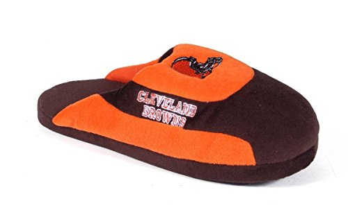 Low Browns Feet Feet Pro Pro NFL Slippers LICENSED Mens Low OFFICIALLY Womens Happy and Comfy Cleveland pRxOzO