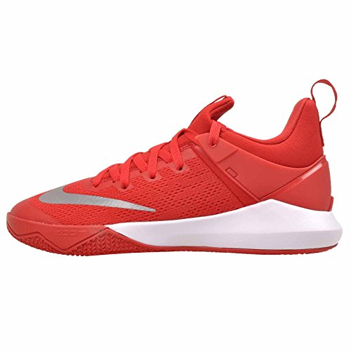 innovative design d4646 fd921 Galleon - NIKE Men s Zoom Shift University Red White Nylon Basketball Shoes  7.5 D(M) US