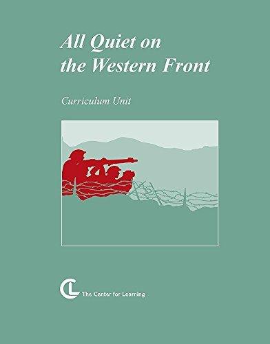 All Quiet on the Western Front: Curriculum Unit