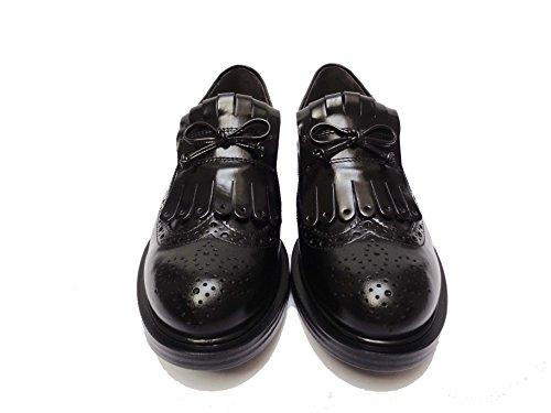 Nero Giardini 19370 scarpe da donna mocassini in pelle col. Nero, num. 38