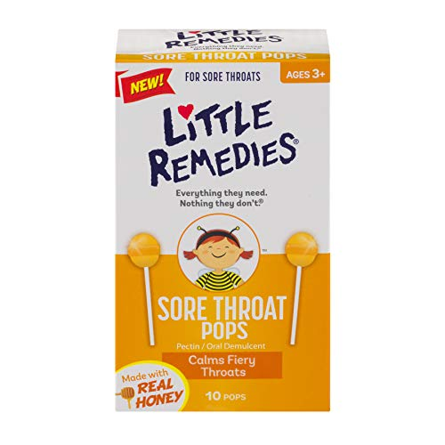 Little Remedies Sore Throat Pops, 30 Count