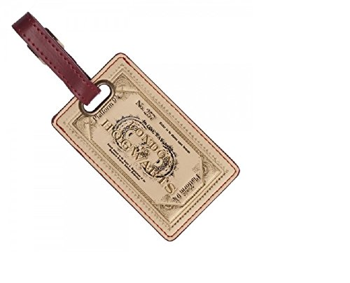 Bioworld Merchandising / Independent Sales Harry Potter Ticket Luggage Tag (Retro Luggage Tag)