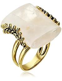 Barse Rose Quartz Statement Ring, Size 6