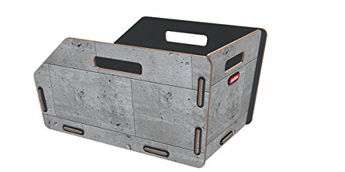 KLICKfix Farradtasche Radkiste 1 Fix Beton, 0325BFIX