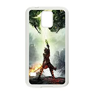 dragon age inquisition Samsung Galaxy S5 Cell Phone Case White&Phone Accessory STC_145962