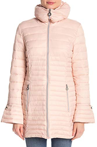 Laundry Quilted Coat (Laundry by Shelli Segal Womens Jacket, M, Pink)
