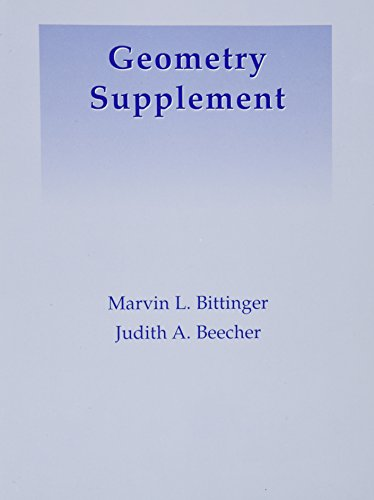 Geometry Supplement (6th Edition)