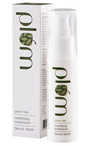 Plum Green Tea Mattifying Moisturizer, 50ml, for OILY SKIN, 100% vegan, natural, chemical free, paraben free, SLS free for daily use