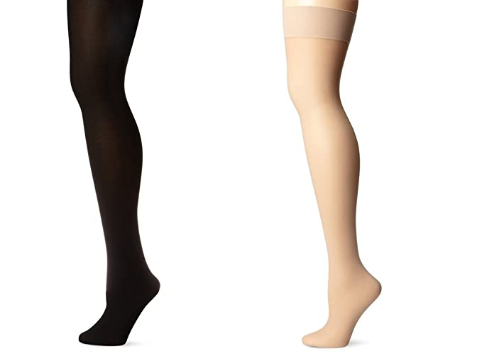 4d987c6f0 Image Unavailable. Image not available for. Colour  Skinny Women s Nylon and  Cotton Stockings(Stock1