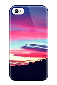 For Paula S Roper Iphone Protective Case, High Quality For Iphone 4/4s Pretty Sunset Skin Case Cover