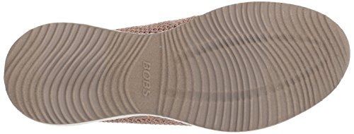 Skechers Squad Hot Infilare Sneaker Bobs Donna Spark Taupe Beige TTnwx4q6f