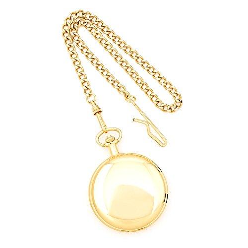 Pocket Watch 14k Gold - Charles Hubert 14k Gold Finish White Dial Pocket Watch