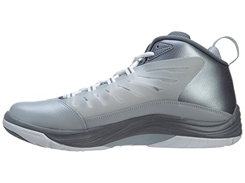 Tiempo de vuelo Jordan Shoes 14.5 Baloncesto Wolf Grey/White-Cool Grey
