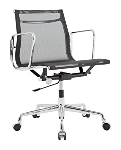 eames style office chairs. Charles Eames Style Low Back Mesh Office Chair Black Chairs I