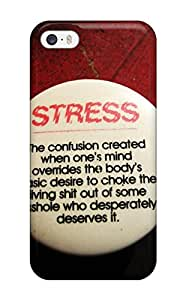 OHirfsj16621athFt Funny Life Quotes Fashion Tpu 5/5s Case Cover For Iphone
