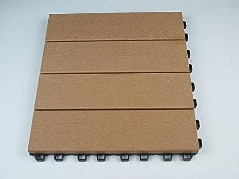 Wpc in legno piastrelle ad incastro per terrazze o balconi in