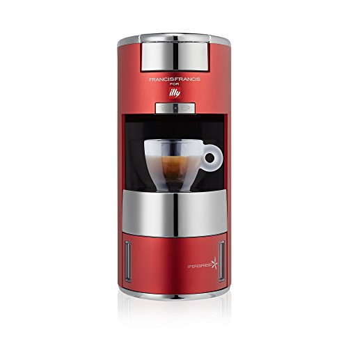 Illy iPerEspresso Home X9 Coffee and Espresso Machine, Red