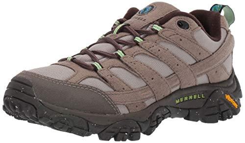 Merrell Women's Moab 2 Vegan Hiking Shoe, Brindle, 09.0 M - Footwear Brindle