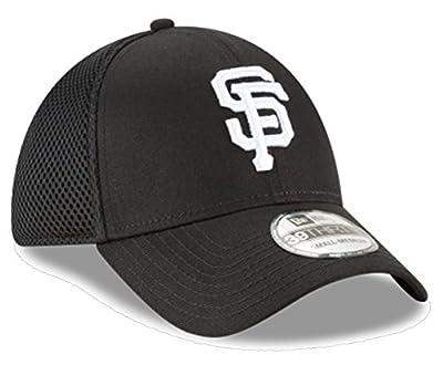 New Era Authentic San Francisco Giants Black Neo 39THIRTY Flex Hat