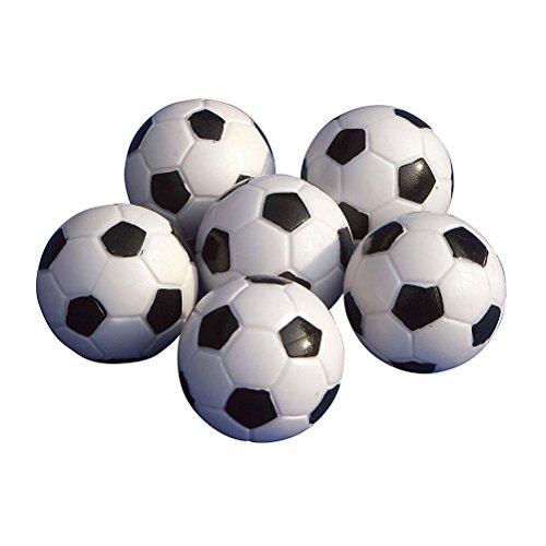 TOYMYTOY Foosballs Replacement Mini Soccer Balls Table Football Balls 32mm 6PCS