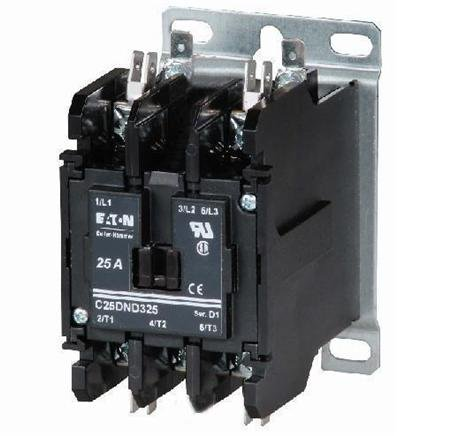 (010211 Eaton C25dnd230b 30a, 2p, Definite Purpose Contactor 30 Amp, 2-pole, Definite Purpose Contactor, 600v Rated, Screw/pressure Plate Terminals, 208-240v Ac Coil. Series: D1.)