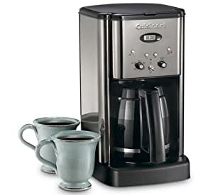 Cuisinart Coffee Maker Dripping : Amazon.com: Cuisinart Brew Central Cbc-00bkpc 12 Cups Coffee Maker: Drip Coffeemakers: Kitchen ...