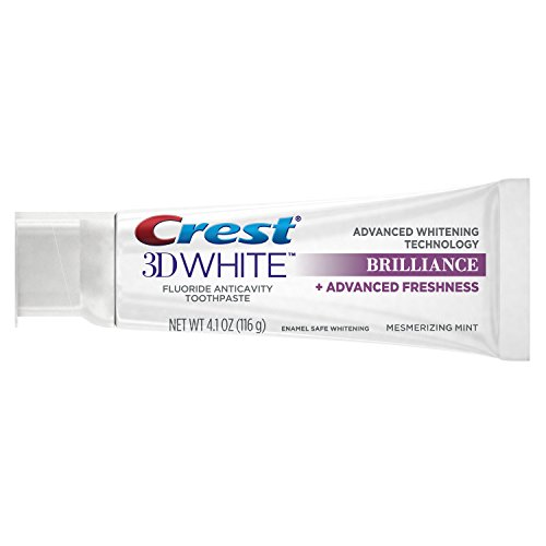 Crest 3D White Brilliance Mesmerizing Mint Toothpaste, 4.1 Ounce (Pack of 24) by Crest (Image #3)