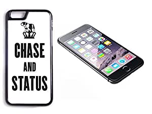 iPhone 6 Black Plastic Hard Case with High Gloss Printed Insert Chase And Status