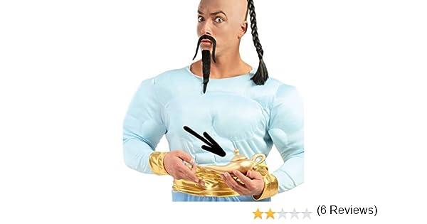 Rudy lámpara de Aladino de plástico para Disfraz de Genio, Color ...