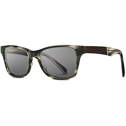 Shwood - Canby Acetate, Sustainability Meets Style, Pearl Grey/Ebony, Grey - Shwood Canby