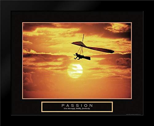 Passion - Hang Glider Framed Art Print by Frontline